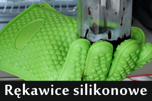 Rękawice silikonowe
