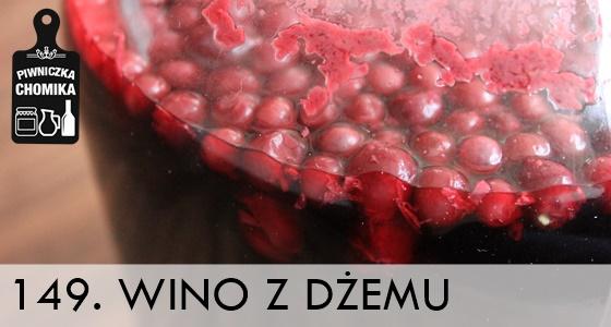 Wino z domowych konfitur