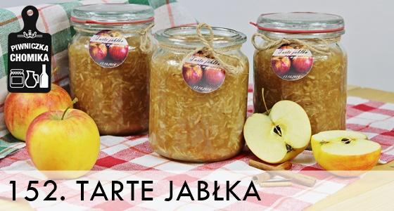 Domowe jabłka do słoika na szarlotkę