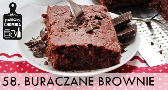 Brownie - ciasto z buraków