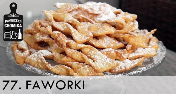 Faworki - domowy chrust