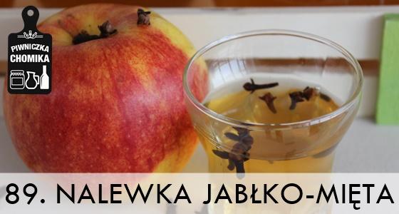 Nalewka jabłkowa z miętą