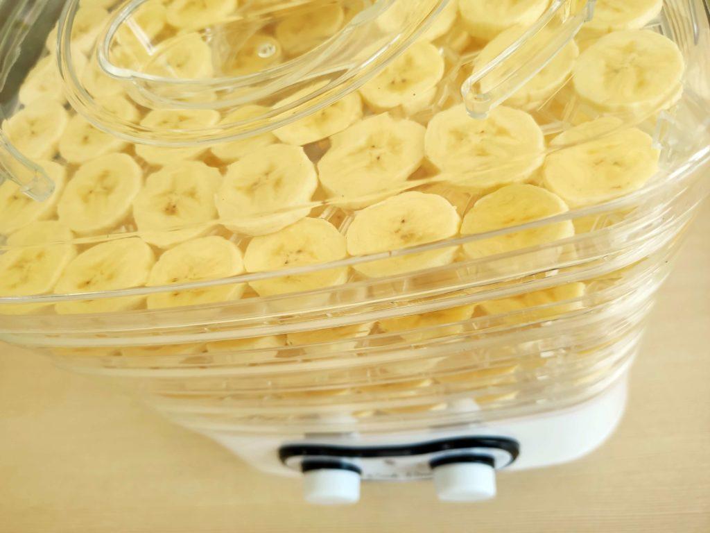 Suszenie bananów w suszarce - Piwniczka Chomika
